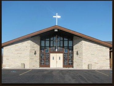 Peace Lutheran Church drop shadow